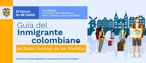 Guía del inmigrante colombiano en Santo Domingo de los Tsachilas